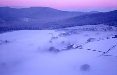 Winter Mist, Teggs Nose, Macclesfield